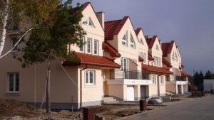 osiedle przy osiedlowej lomianki domy szeregowe z budowy 01