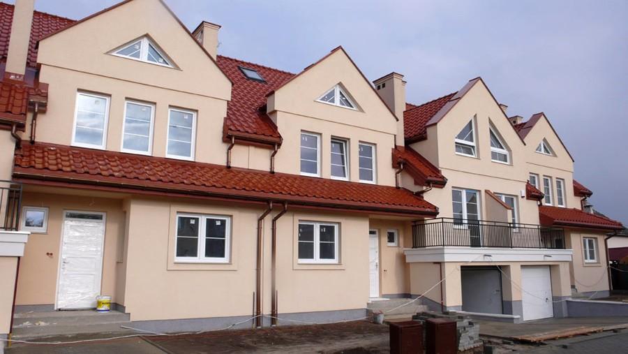 osiedle przy osiedlowej lomianki domy szeregowe z budowy 02
