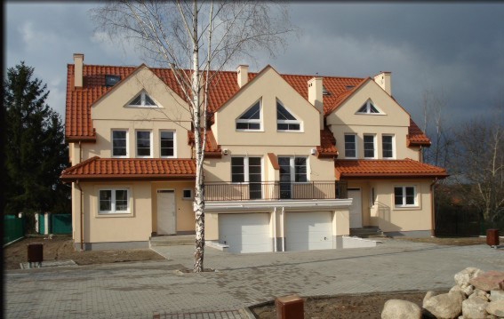 osiedle przy osiedlowej lomianki domy szeregowe z budowy 05